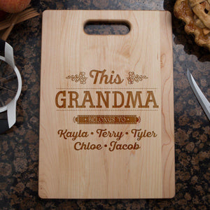 This Grandma Cutting Board-Shopeholic