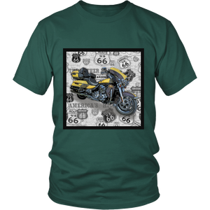 Vintage Motorcycle 3 - Apparels-District Unisex Shirt-DT6000-Shopeholic