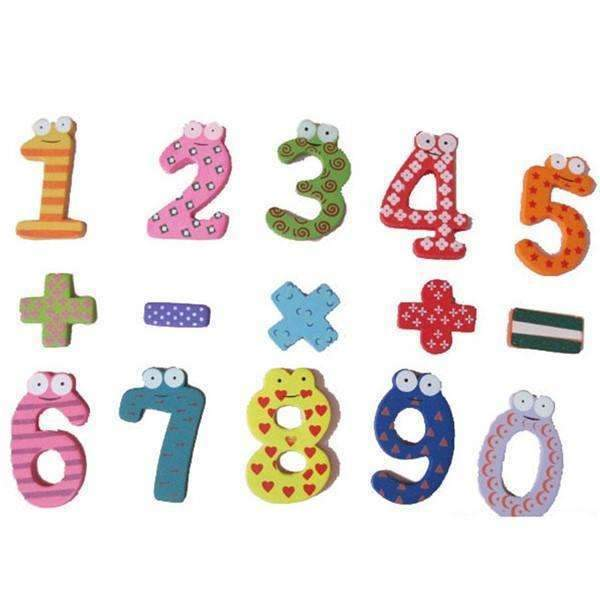 Shopeholic:Wooden Magnetic Math Set