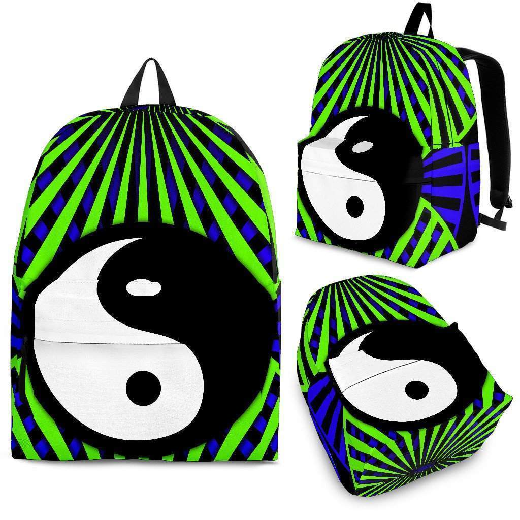 Shopeholic:Ying Yang Backpack