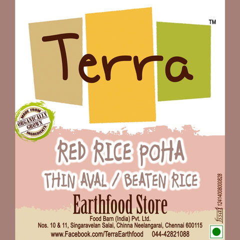 Terra-Red Rice Poha