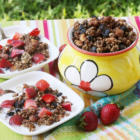 Buckwheat Almond Granola
