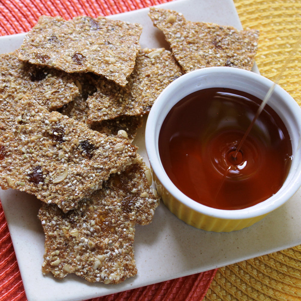 Terra-Lemon Chia Crackles