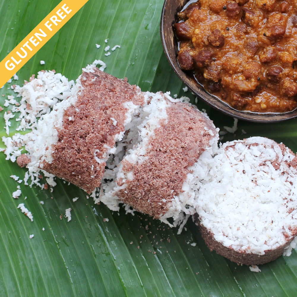 Terra-Red Rice Puttu Flour