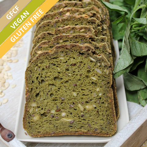 Terra-Spinach Seeded Bread