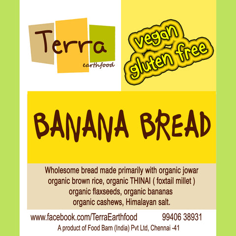 Terra-Banana Bread