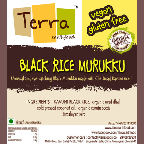 Terra-Black Rice Murukku