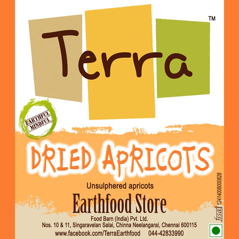 Terra-Dried Apricots