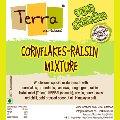 Terra-Cornflakes Raisin Mixture