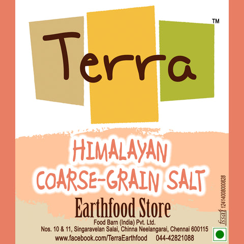 Terra-Himalayan Coarse Grain Salt