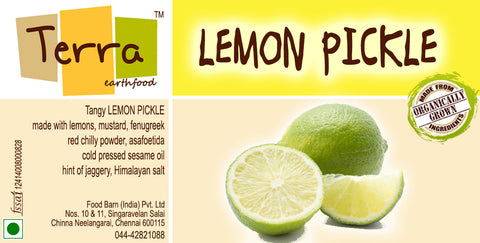 Terra - Lemon Pickle