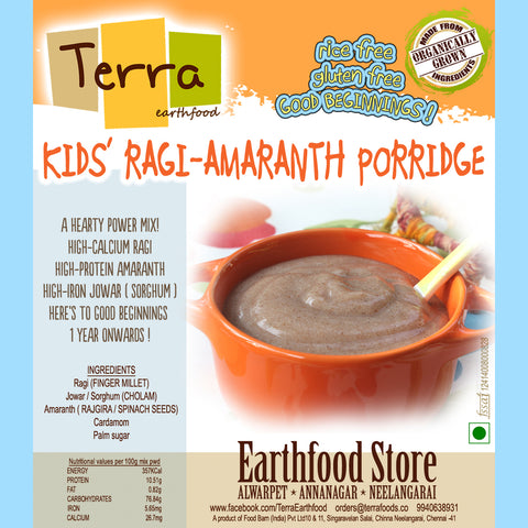 Terra-Kids Ragi Amaranth Porridge