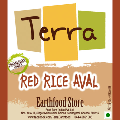 Terra-Red Rice Aval