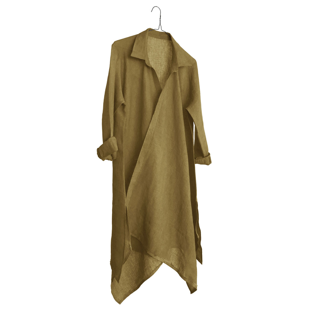 Linen Empire Long Shirt