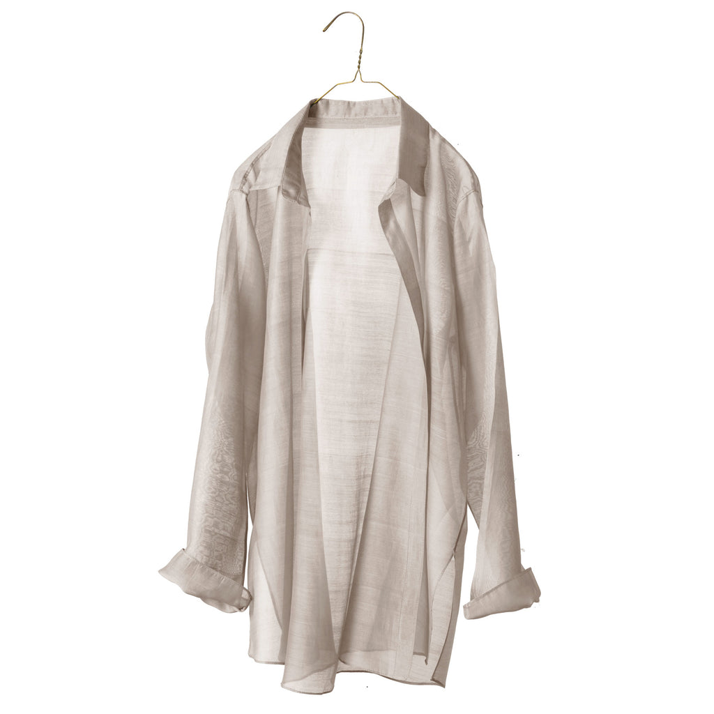 Sheer Easy Overshirt