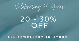 Our Jewellerty Sale Continues Until Christmas Eve