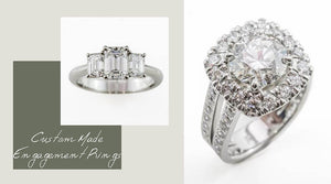 Custom Made Engagement Rings Perth | Perth Engagement Rings | Brinkhaus Jewellers Perth