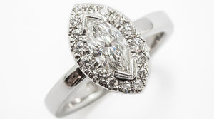 Marquise cut diamond rings Perth