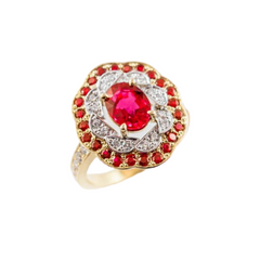 Ruby RIngs Perth | Custom Made Ruby Ring Perth | Brinkhaus Jewellers Claremont