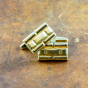 Cufflinks in 18ct Yellow Gold