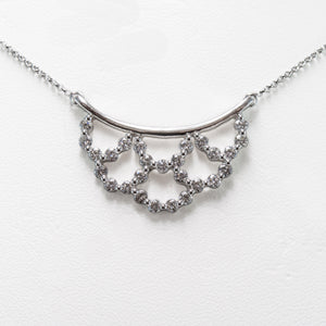 Brilliant Necklace In 18ct White Gold With Diamonds