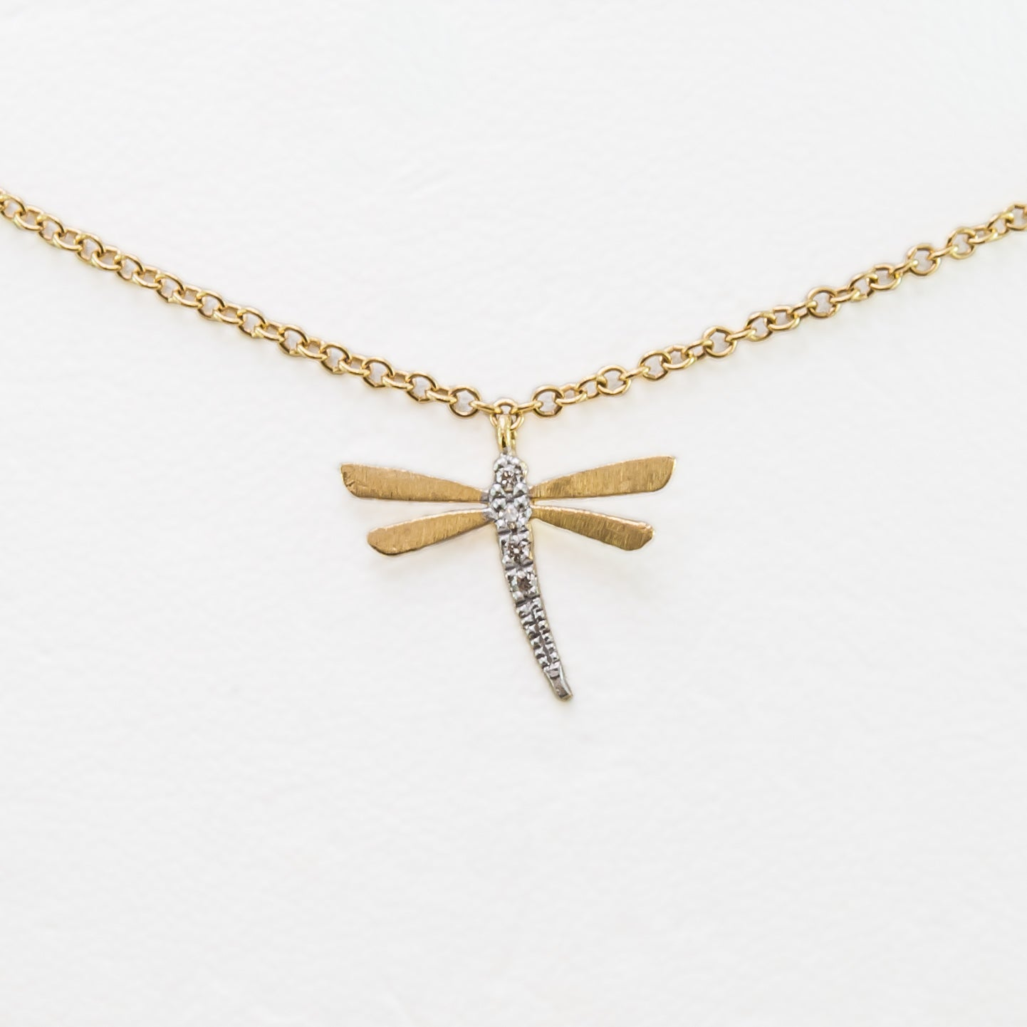 qlt cable chain gold filled dragonfly wid inch on pendant p an hei prod necklace tone