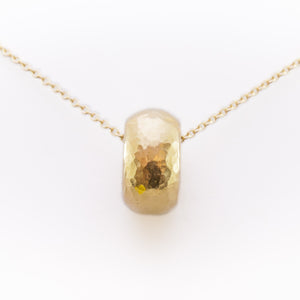 Donut Necklace in 18ct Yellow Gold
