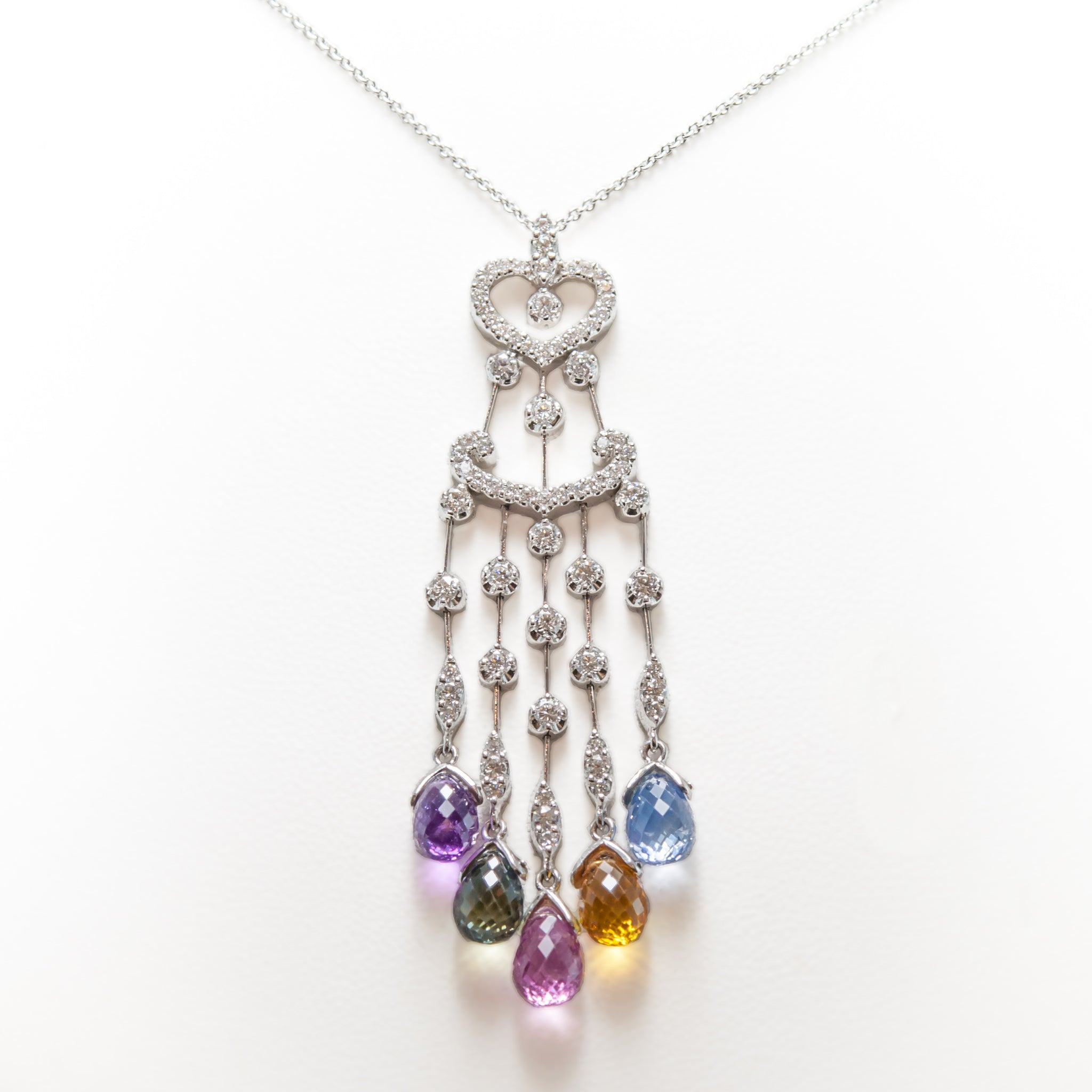 products sapphire wisdom jacqueline in peace gold birthstone september necklace jacquelineashworth briolette