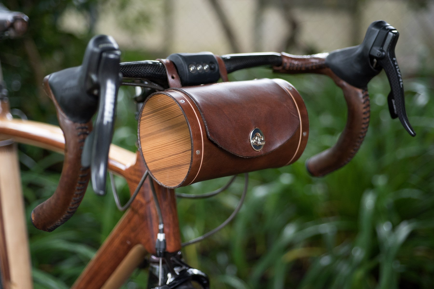 Handle Bar Barrel Bag