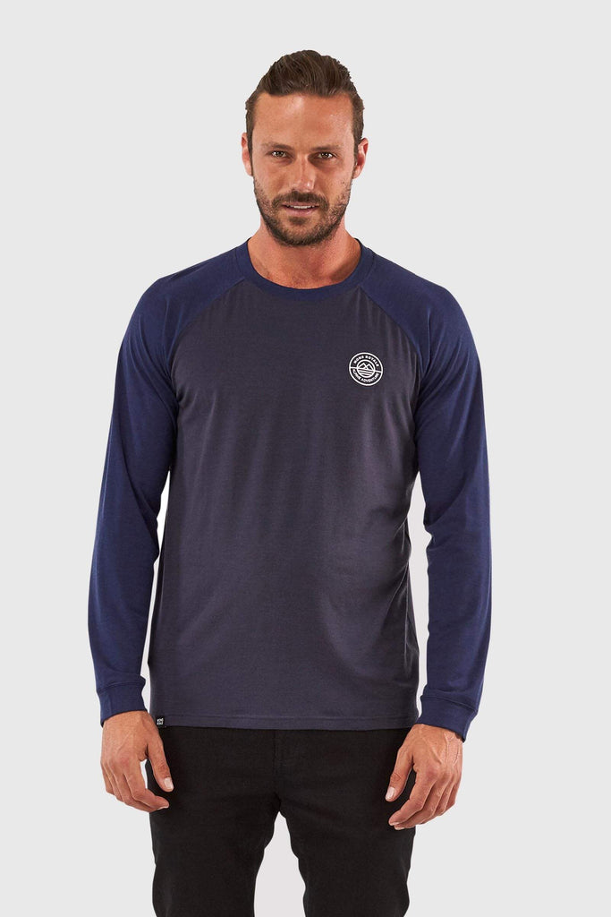 Mons Royale Icon Raglan Long Sleeve Top