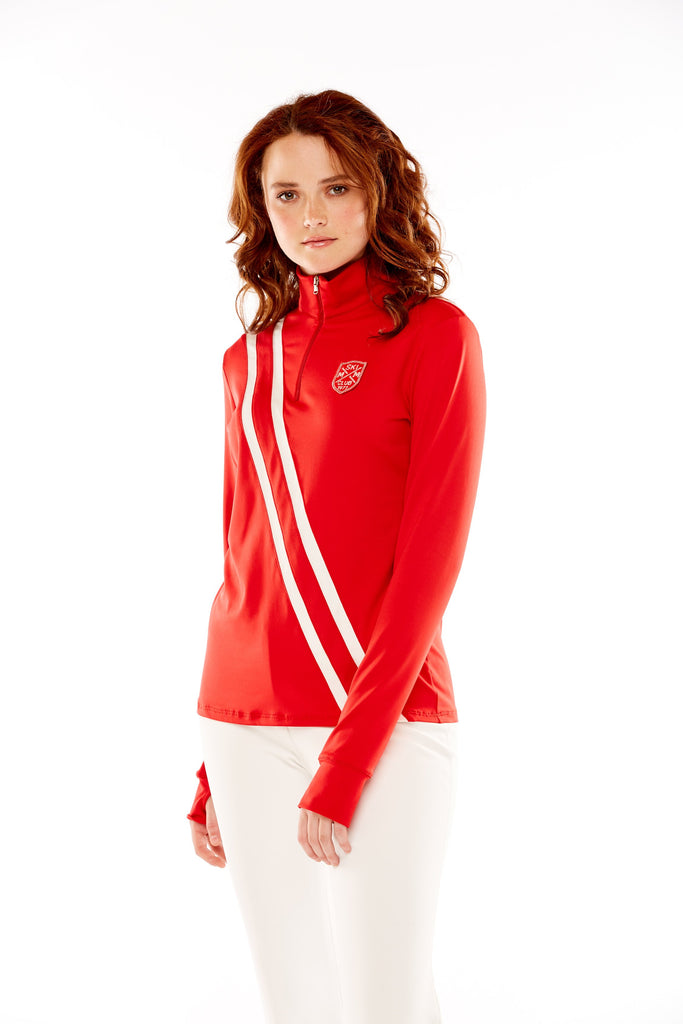 M.Miller Red Polo Base Layer