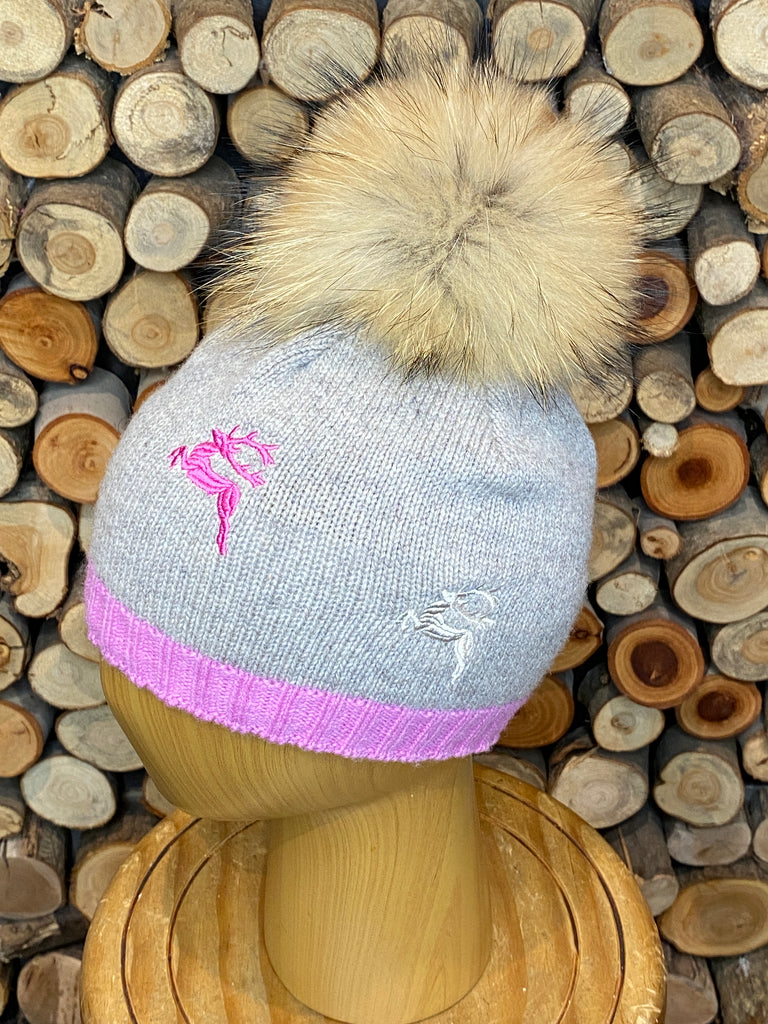 Steffner Embroidered Deers Beanie