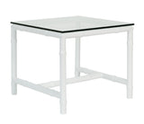 SIDE TABLE SQUARE GLASS - ALBOO