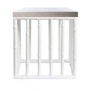 ALBOO FOXY SIDE TABLE TALL - CONCRETE TOP - ALBOO