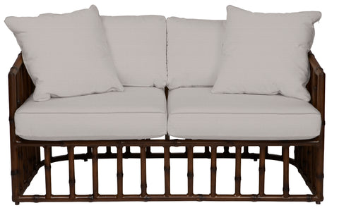 BELLA TWO SEATER - BAMBOO FINISH