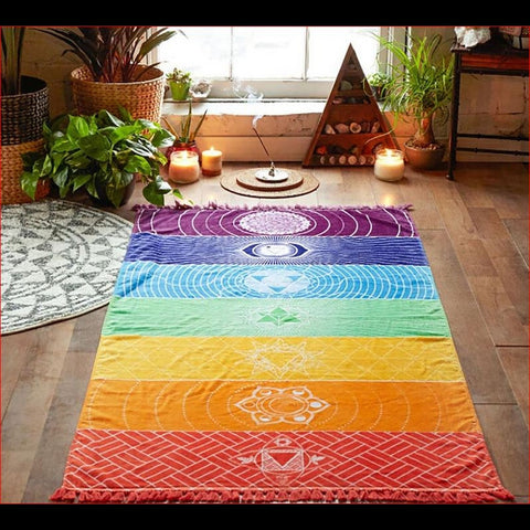 Couverture Rainbow 7 Chakras
