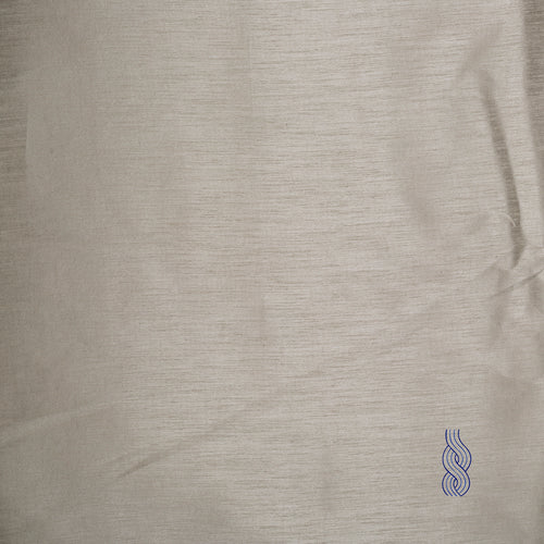 Art Raw Silk (Slub) Silver White