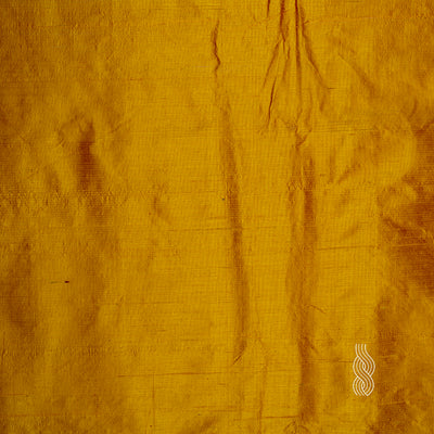 Raw Silk (Dupion) Mustard Yellow