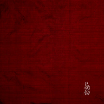 Plain Silk Maroon