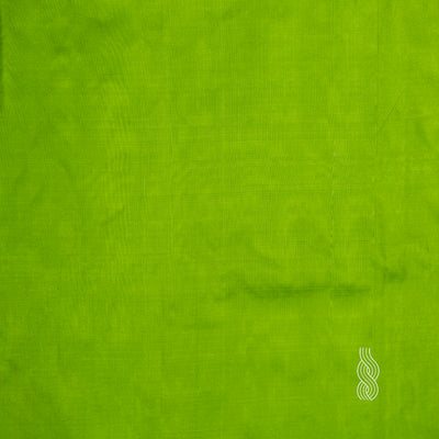 Plain Silk light Green