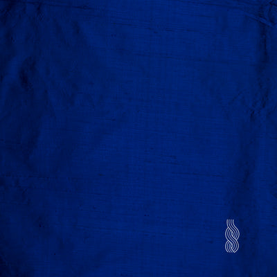 Raw Silk (Dupion) Royal Blue