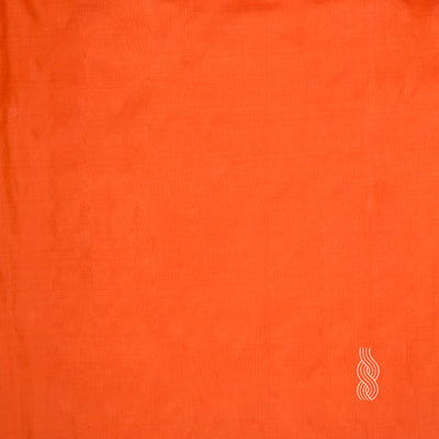 Plain Silk Light Saffron