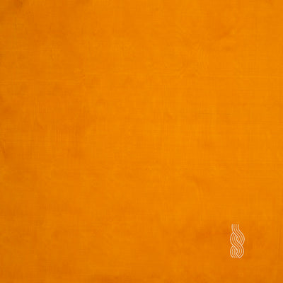 Plain Silk Light Orange