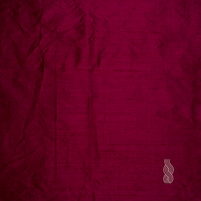 Raw Silk (Dupion) Deep Red