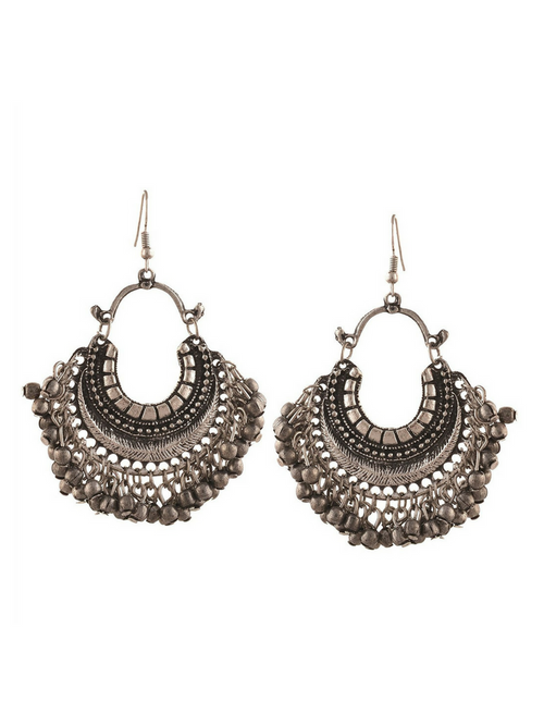 Noor Chanbalis Silver Earrings