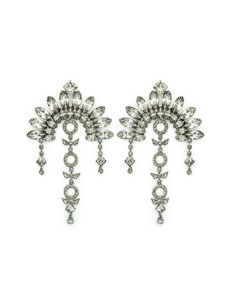Agnes Crystal Boho Earrings