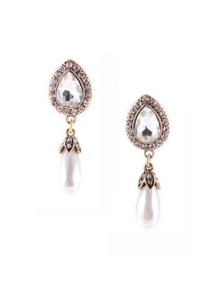 Timeless classy Pearl Drop Earrings