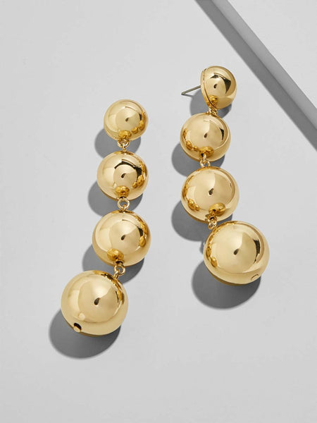 Mya Drop Gold Earrings