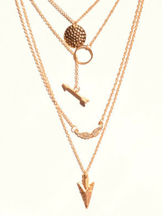 Layer Love Gold Necklace