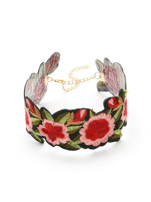 Floral Power Choker